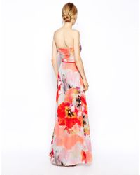 Coast - Multicolor Capporelle Maxi Dress - Lyst