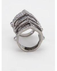 Vivienne Westwood | Metallic 'finger Wrap' Ring | Lyst