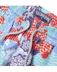 Vilebrequin | Blue Moorea Cup Printed Swim Trunks for Men | Lyst