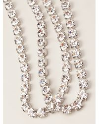 Tom Binns - Metallic Long Strand Necklace - Lyst