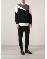 Neil Barrett - Black Printed Sweatshirt for Men - Lyst