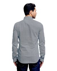Guess   Gray Printed Shirt for Men   Lyst