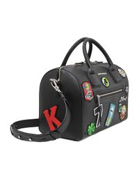 Karl Lagerfeld | Multicolor Karl Around The World Duffle | Lyst