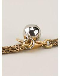 Shourouk   Metallic 'Hindi' Necklace   Lyst