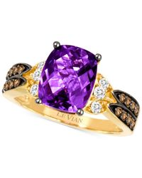 Le Vian | Purple Amethyst (2-5/8 Ct. T.w.) And Diamond (3/8 Ct. T.w.) Ring In 14k Gold | Lyst