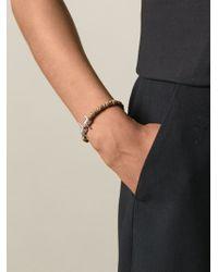 Vivienne Westwood - Brown Wire Detail Bracelet - Lyst