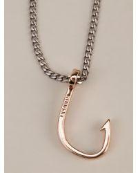 Miansai | Metallic Hook Chain Bracelet for Men | Lyst