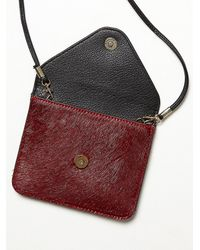Free People - Purple Reversible Vegan Crossbody - Lyst
