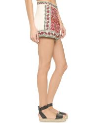 Glamorous | Multicolor Embroidered Shorts | Lyst