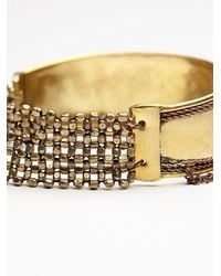Free People | Metallic Stretch Upper Arm Band | Lyst