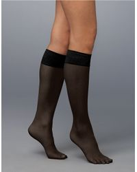Spanx | Black Hi Knee Knee Highs | Lyst