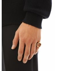 Dominic Jones - Metallic Titus Ring for Men - Lyst