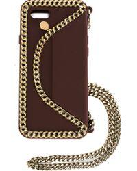 Stella McCartney - Red 'falabella' Iphone Case - Lyst
