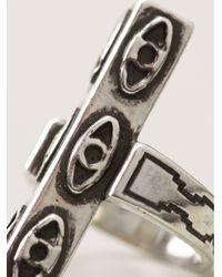 Pamela Love | Metallic Six Eye Ring | Lyst
