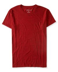Aéropostale | Heathered Pocket Tee | Lyst