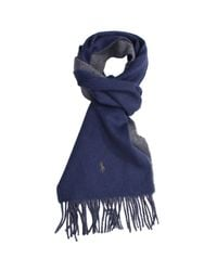 Polo Ralph Lauren | Blue Scarf for Men | Lyst