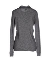 Brebis Noir - Gray Turtleneck - Lyst