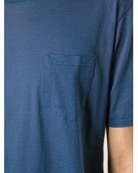 Dolce & Gabbana - Blue Pocket T-Shirt for Men - Lyst
