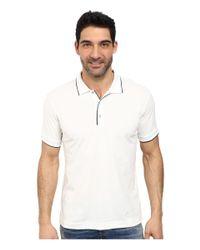 Robert Graham | White Roatan Short Sleeve Knit Polo for Men | Lyst