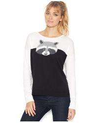 Kensie - Multicolor Long-Sleeve Scoop-Neck Colorblocked Sweater (Only At Macy'S) - Lyst