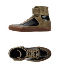 Diesel Black Gold - Green High-Tops & Trainers for Men - Lyst