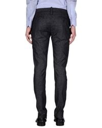 4 Four Messagerie - Gray Casual Pants for Men - Lyst
