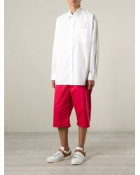 Alexander McQueen - White Oversize Shirt for Men - Lyst