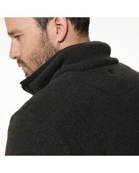 James Perse - Gray Yosemite Polar Fleece Zip Up Jacket for Men - Lyst