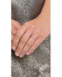 Ariel Gordon - Pink Delicate Heart Silhouette Ring - Lyst