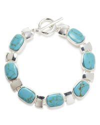 Ralph Lauren | Blue Lauren Rectangular Cushion Bracelet | Lyst