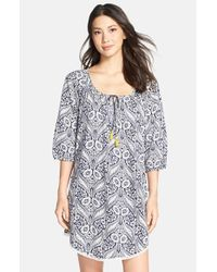 Lucky Brand | Multicolor Tassel Sleep Shirt | Lyst