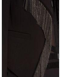 Label Lab | Black Fringe Jacket | Lyst