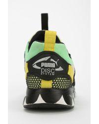PUMA - Green X Girls Of Blaze Tire Disc Running Sneaker - Lyst