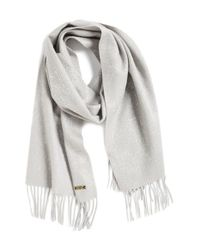 Badgley Mischka | Metallic Speckle Oversize Scarf | Lyst