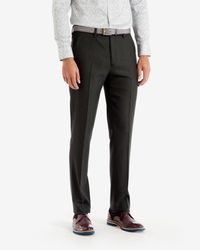 Ted Baker - Gray Birdseye Trousers for Men - Lyst