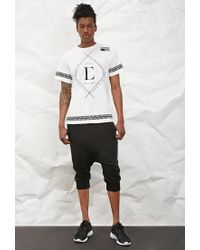 Forever 21 - White Civil Baseball Graphic Tee for Men - Lyst