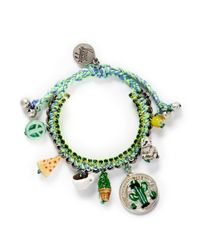 Venessa Arizaga | Green 'travel Bag' Bracelet | Lyst