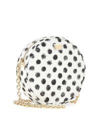 Dolce & Gabbana - Black Glam Printed Shoulder Bag - Lyst