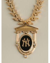 Malibu 1992 | Metallic 'n.y Goodness' Necklace | Lyst