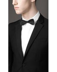 Burberry | Black Modern Fit Wool Mohair Tuxedo for Men | Lyst