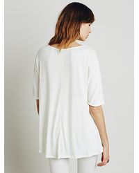 Free People - Natural We The Free Womens We The Free Sunset Fade Tee - Lyst