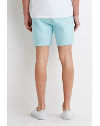 Forever 21 | Blue Drawstring Chino Shorts for Men | Lyst