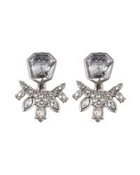 Alexis Bittar | Metallic Jagged Marquis Cluster Jacket Earring You Might Also Like | Lyst