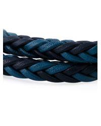 Tod's - Blue 'my Colours' Bracelet for Men - Lyst