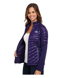 The North Face | Purple Momentum Thermoball™ Hybrid Jacket | Lyst
