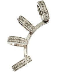 Repossi - Metallic Diamond 4row Berbãre Earring - Lyst