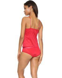 Calvin Klein - Red Camisole & Hipster Gift Set - Lyst