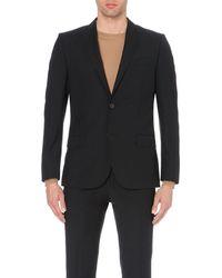 J.Lindeberg - Black Slim-fit Wool Jacket for Men - Lyst
