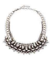 DANNIJO - Metallic Scott Crystal Collar Necklace - Lyst