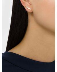 Sophie Bille Brahe | Metallic Small Crescent Moon Ear Cuff | Lyst